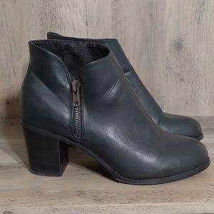 Torrid Black Ankle Boots 11W